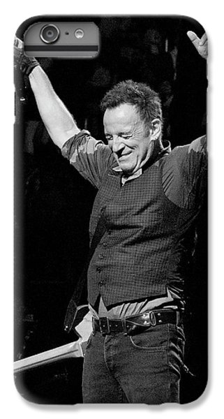 Bruce Springsteen IPhone 6 Plus Case by Jeff Ross