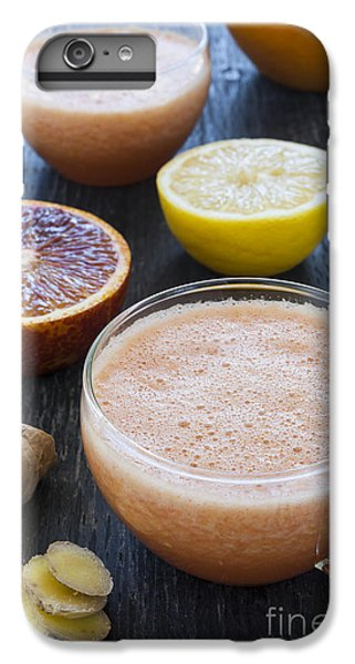 Citrus Smoothies IPhone 6 Plus Case by Elena Elisseeva