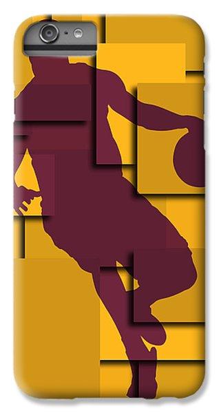 Cleveland Cavaliers Lebron James IPhone 6 Plus Case by Joe Hamilton