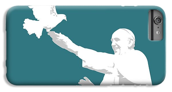 Pope Francis IPhone 6 Plus Case by Greg Joens