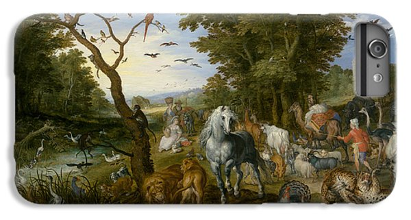 The Entry Of The Animals Into Noah's Ark IPhone 6 Plus Case by Jan Brueghel the Elder