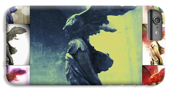 The Winged Victory - Paris - Louvre IPhone 6 Plus Case by Marianna Mills
