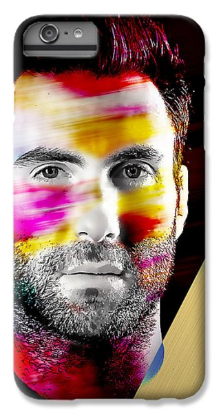 Adam Levine Collection IPhone 6 Plus Case by Marvin Blaine