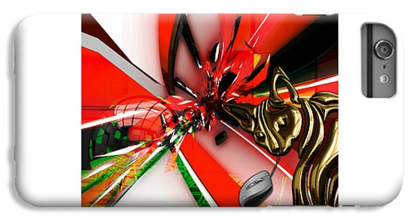 Cat And Mouse Art Collection IPhone 6 Plus Case by Marvin Blaine