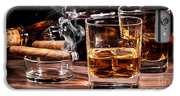 Cigar And Alcohol Collection IPhone 6 Plus Case by Marvin Blaine