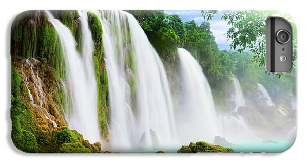 Detian Waterfall IPhone 6 Plus Case by MotHaiBaPhoto Prints