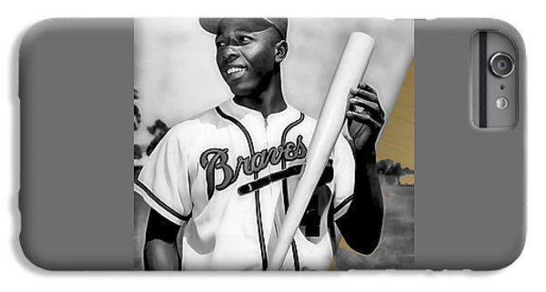 Hank Aaron Collection IPhone 6 Plus Case by Marvin Blaine
