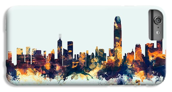 Hong Kong Skyline IPhone 6 Plus Case by Michael Tompsett
