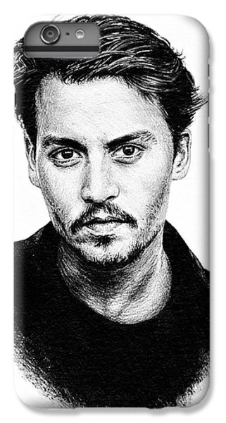 Johnny Depp IPhone 6 Plus Case by Andrew Read