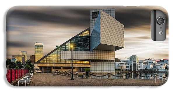 Rock And Roll Hall Of Fame IPhone 6 Plus Case by James Dean