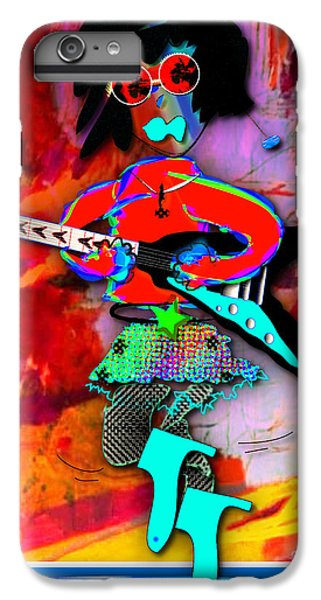 Rocker Lucy Collection IPhone 6 Plus Case by Marvin Blaine