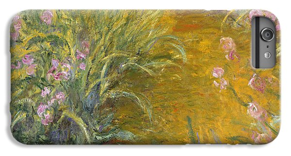 The Path Through The Irises IPhone 6 Plus Case by Claude Monet