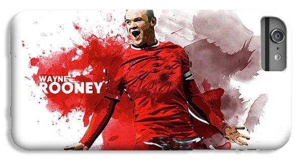 Wayne Rooney IPhone 6 Plus Case by Semih Yurdabak