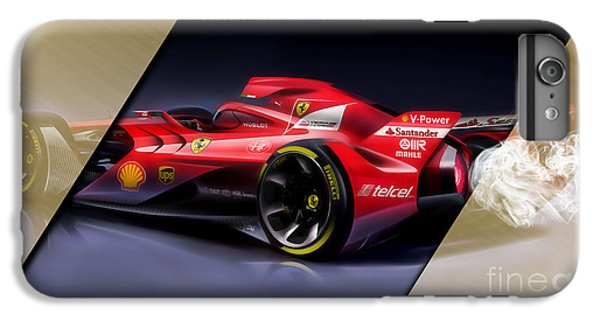 Ferrari F1 Collection IPhone 6 Plus Case by Marvin Blaine