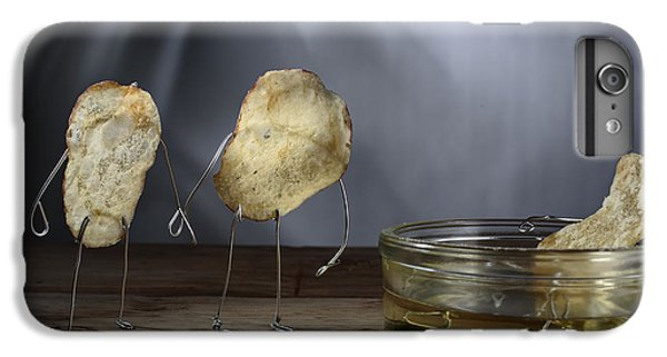 Simple Things - Potatoes IPhone 6 Plus Case by Nailia Schwarz