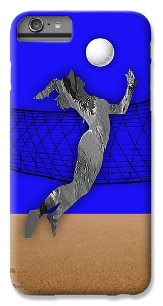 Vollyball Collection IPhone 6 Plus Case by Marvin Blaine