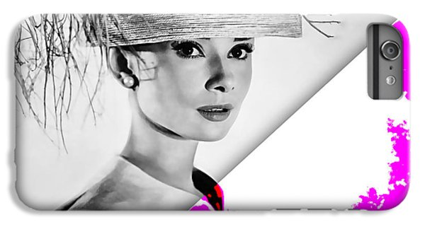 Audrey Hepburn Collection IPhone 6 Plus Case by Marvin Blaine