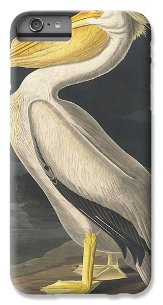 American White Pelican IPhone 6 Plus Case by John James Audubon