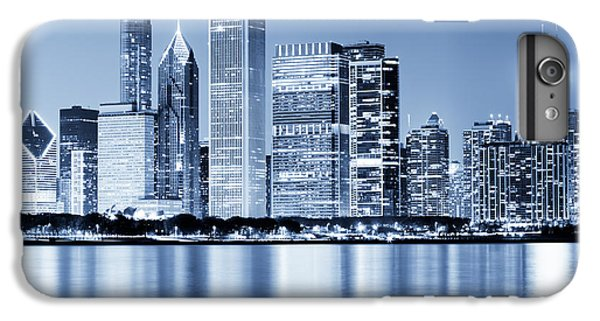 Chicago Skyline At Night IPhone 6 Plus Case by Paul Velgos