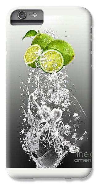 Lime Splash IPhone 6 Plus Case by Marvin Blaine