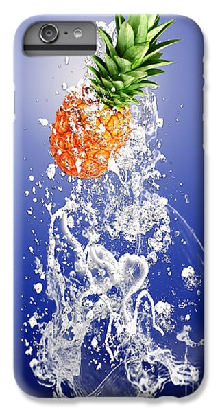 Pineapple Splash IPhone 6 Plus Case by Marvin Blaine