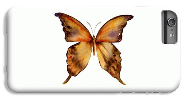 7 Yellow Gorgon Butterfly IPhone 6 Plus Case by Amy Kirkpatrick
