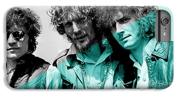 Cream Eric Clapton Jack Bruce Ginger Baker IPhone 6 Plus Case by Marvin Blaine