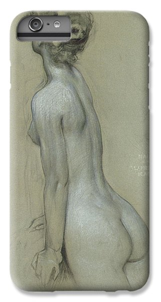 A Naiad In The Lament For Icarus IPhone 6 Plus Case by Herbert James Draper