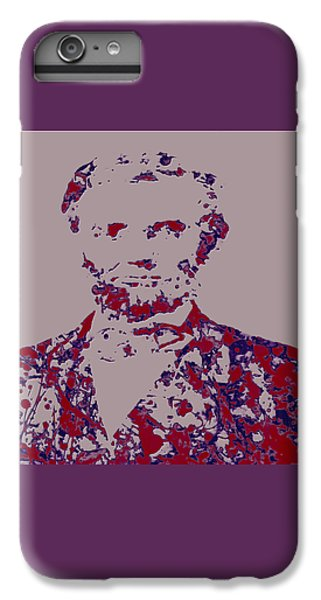 Abraham Lincoln 4c IPhone 6 Plus Case by Brian Reaves