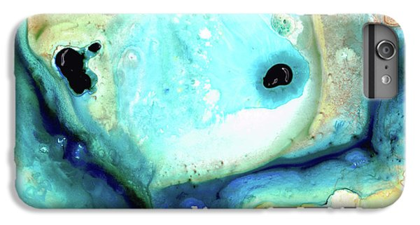 Abstract Art - Holding On - Sharon Cummings IPhone 6 Plus Case by Sharon Cummings