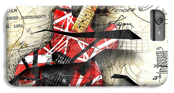 Abstracta 35 Eddie's Guitar IPhone 6 Plus Case by Gary Bodnar