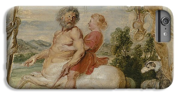 Achilles Educated By The Centaur Chiron IPhone 6 Plus Case by Peter Paul Rubens