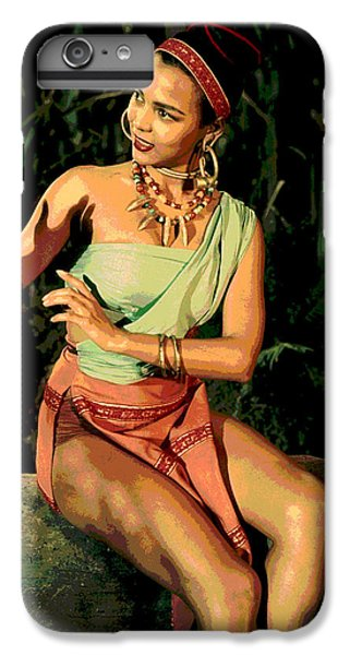 Actress Dorothy Fandridge IPhone 6 Plus Case by Charles Shoup