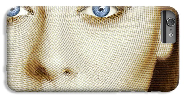 Adele Painting Circle Pattern 1 IPhone 6 Plus Case by Tony Rubino