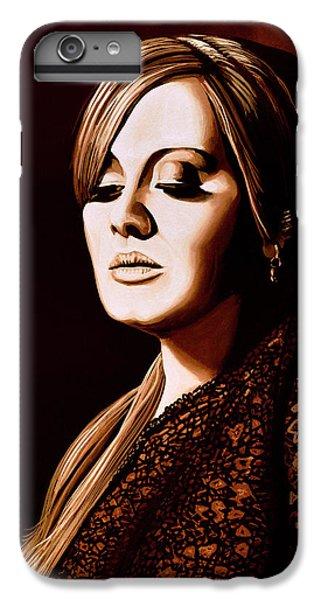 Adele Skyfall Gold IPhone 6 Plus Case by Paul Meijering