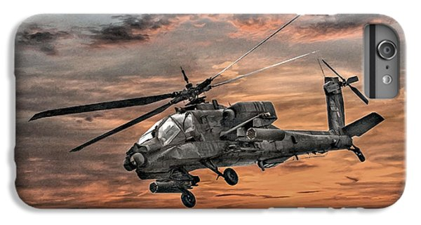 Ah-64 Apache Attack Helicopter IPhone 6 Plus Case by Randy Steele