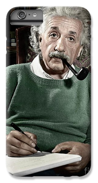 Albert Einstein IPhone 6 Plus Case by Granger