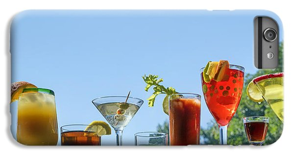 Alcoholic Beverages - Outdoor Bar IPhone 6 Plus Case by Nikolyn McDonald