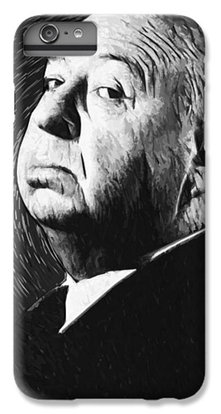 Alfred Hitchcock IPhone 6 Plus Case by Taylan Soyturk