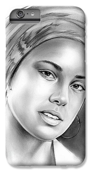 Alicia Keys IPhone 6 Plus Case by Greg Joens