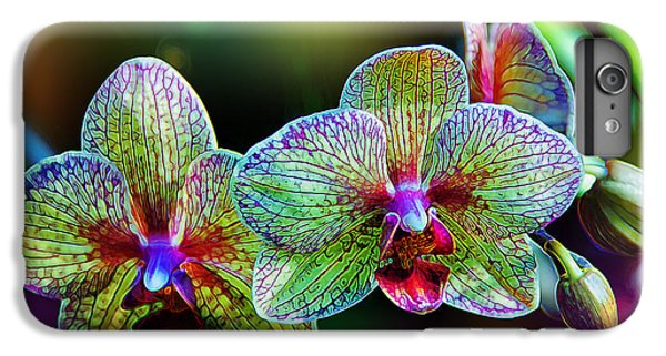 Alien Orchids IPhone 6 Plus Case by Bill Tiepelman