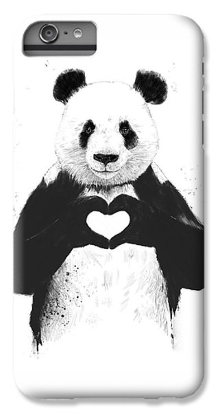 All You Need Is Love IPhone 6 Plus Case by Balazs Solti