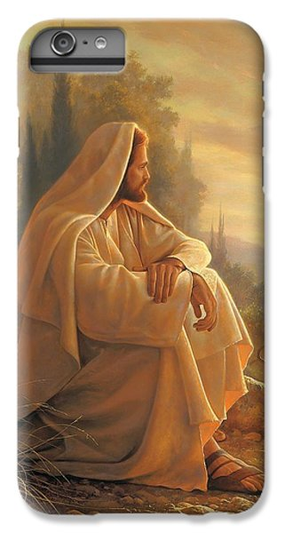Alpha And Omega IPhone 6 Plus Case by Greg Olsen