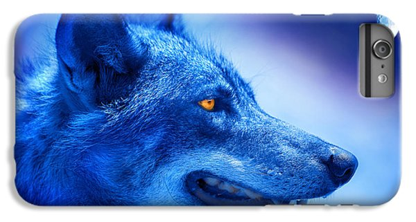 Alpha Wolf IPhone 6 Plus Case by Mal Bray