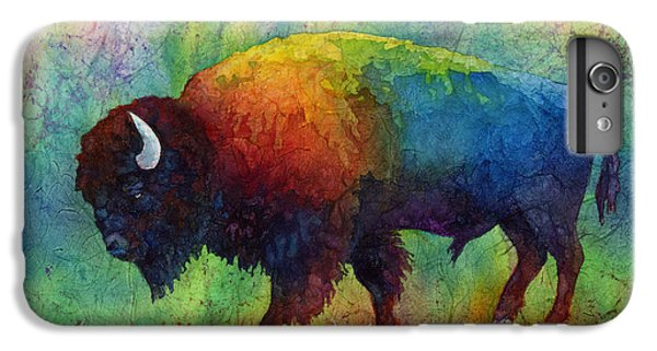 American Buffalo 6 IPhone 6 Plus Case by Hailey E Herrera