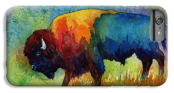 American Buffalo IIi IPhone 6 Plus Case by Hailey E Herrera