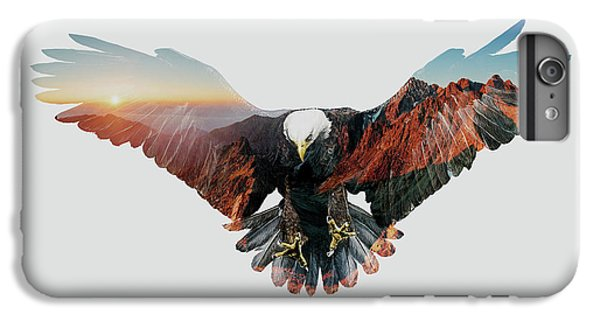 American Eagle IPhone 6 Plus Case by John Beckley