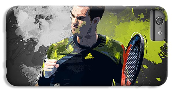 Andy Murray IPhone 6 Plus Case by Semih Yurdabak