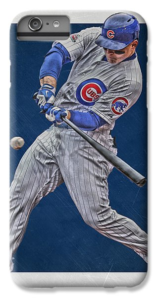 Anthony Rizzo Chicago Cubs Art 1 IPhone 6 Plus Case by Joe Hamilton