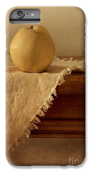 Apple Pear On A Table IPhone 6 Plus Case by Priska Wettstein